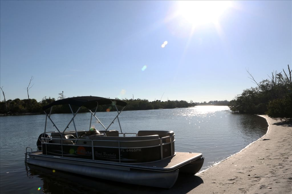 Allure Boat Rentals - Harris Cruisers 22'